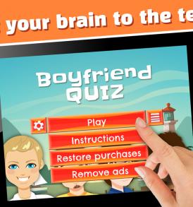 Boyfriend Quiz Puzzle